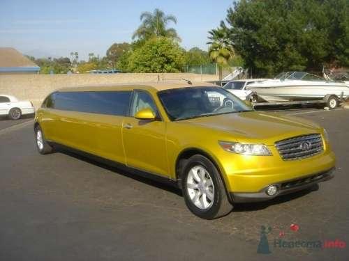 Инфинити золотой лимузин - фото 2490 Авто-Премиум - прокат авто