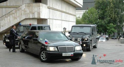 Мерседес лимузин Президентский