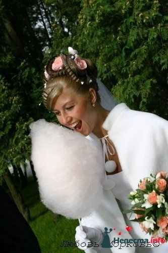 Фото 95481 в коллекции Свадебные прически (фотографии сняты не мной)  - Wamira