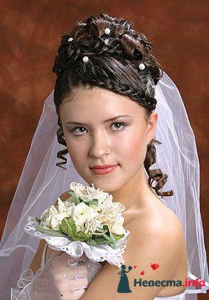 Фото 95508 в коллекции Свадебные прически (фотографии сняты не мной)