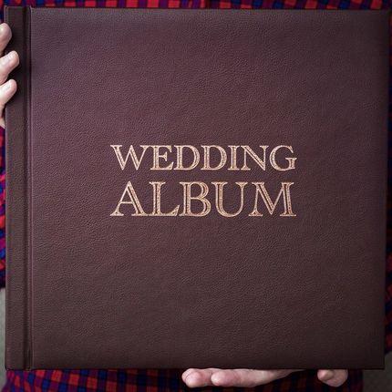 Стильные свадебные фотокниги