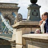 Свадьба в Венгрии, в Будапеште