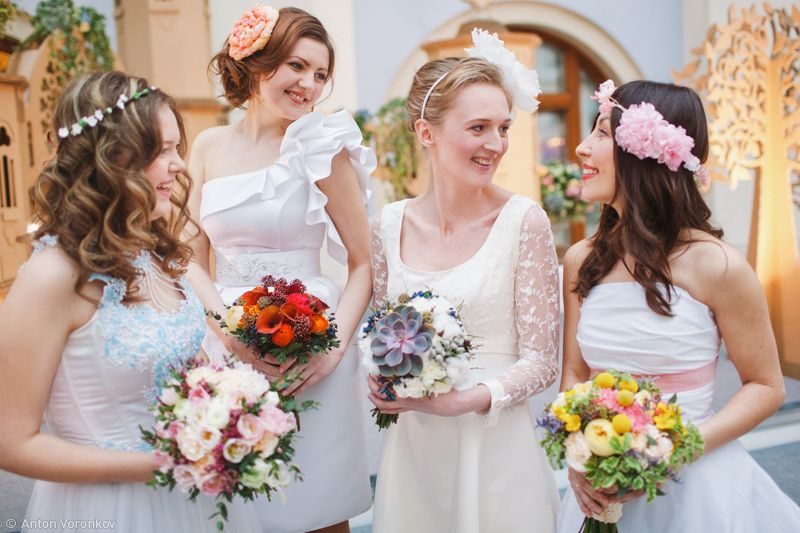 Фото 10411572 в коллекции Real bride - Стилист-визажист Анна Мордвинцева
