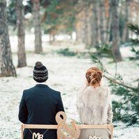 зимняя сказка Маши и Жени