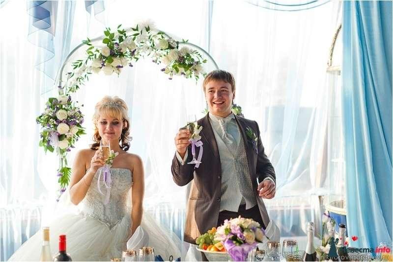 Фото 294110 в коллекции Эксклюзивное оформление классических и тематических свадеб  - Ольга Полякова и Co - ведущая и конферансье