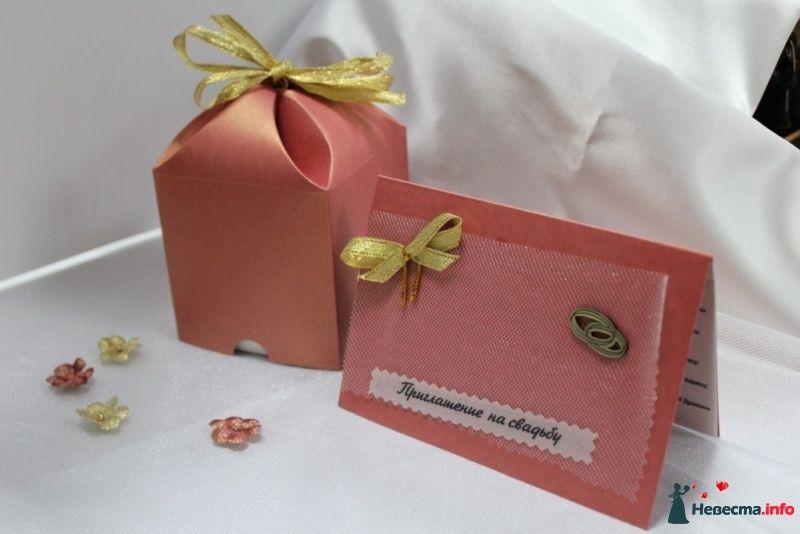 набор приглашение и подарочный сундучок (для сувенирной продукции) - фото 299041 Дизайнер Кашникова Наталья - аксессуары