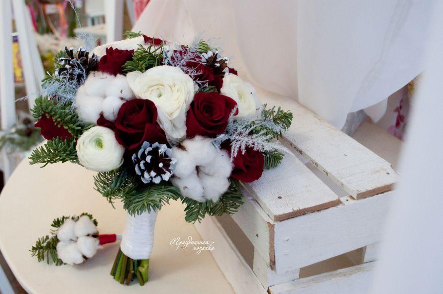 """Фото 14112466 в коллекции Букет невесты - Студия флористики и декора """"Праздничная мозаика"""""""