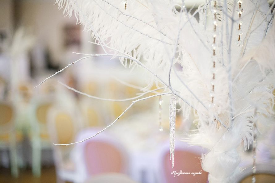 "Зимняя свадьба 2017 - фото 16347008 Студия флористики и декора ""Праздничная мозаика"""