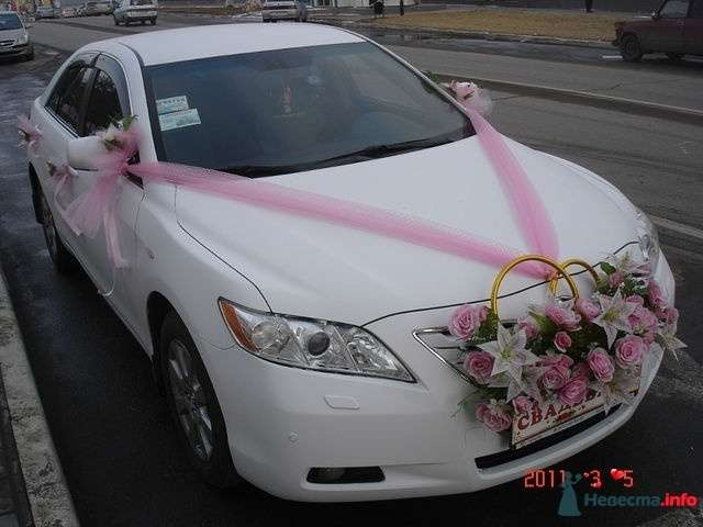 "Фото 300174 в коллекции Тойота Камри - Компания ""Автопрофи"" - свадебный кортеж"