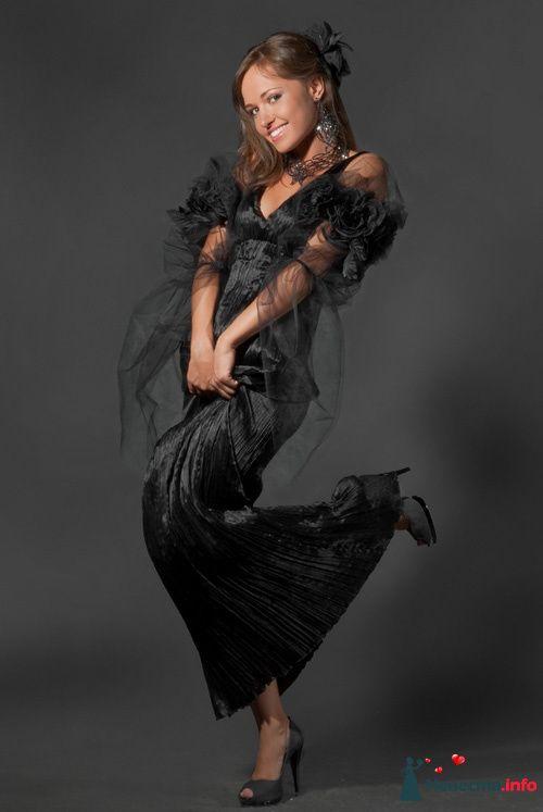 """Черное вечернее, свадебное.. - фото 85841 Арт-Ателье """"Костюмер"""""""