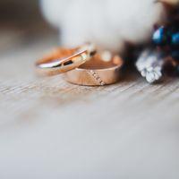 зима, сборы невесты, колечки