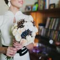 зима, сборы невесты
