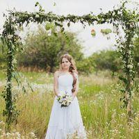 арка из веток и травы арка для фотосессии в стиле рустик