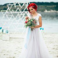 Букет невесты с артишоком
