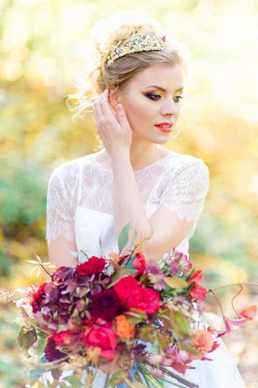 """Осенний букет невесты - фото 16526972 Мастерская оформления свадеб """"Magic garden"""""""