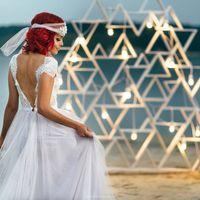 Вечерняя выездная церемония на пляже
