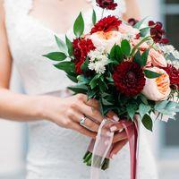 Свадебный букет. букет невесты.