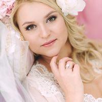 флористика, венок, лиловый ,розовый, утро, невеста, портрет