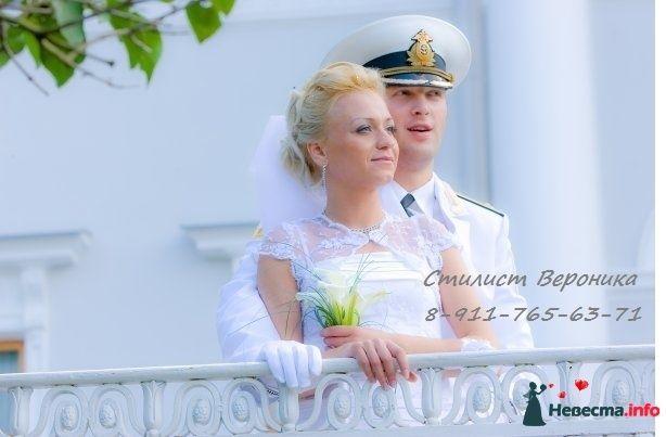 Фото 309329 в коллекции Мои невесты (прически и макияж) - Стилист Вероника Краснова