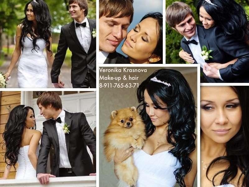 Фото 859119 в коллекции Мои невесты (прически и макияж) - Стилист Вероника Краснова