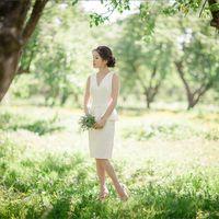 невеста прогулка Коломенское