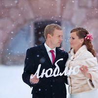 Зимние свадьбы могут быть такими сказочными!  Шубка для невесты из норки, с вышивкой от Skornyakova Design (Москва)