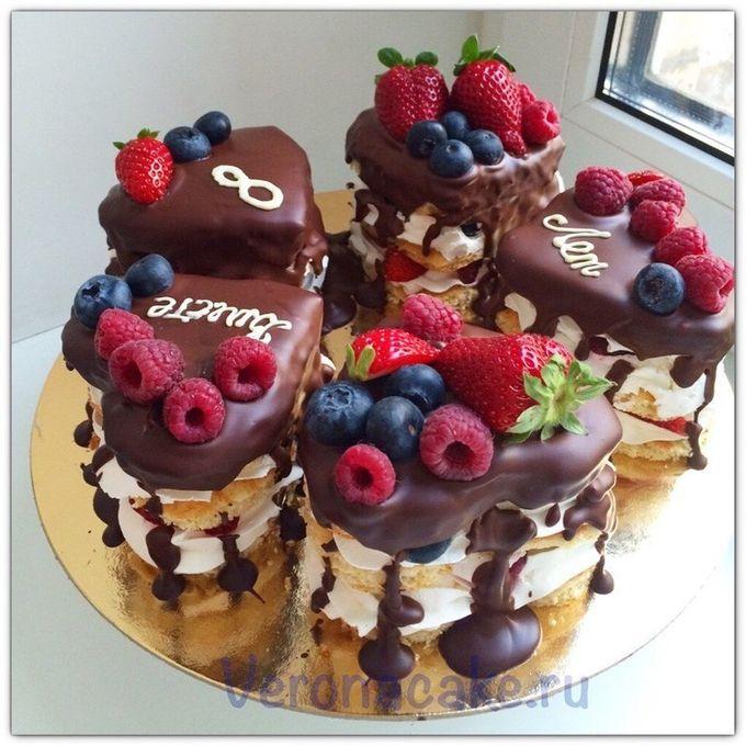 Фото торты мини