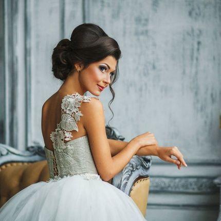 Свадебная прическа и макияж и репетиция
