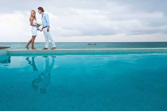 Фото 676161 в коллекции Место проведения - частный уединенный пляж - Гелена Дёмель - свадебный координатор в Мексике