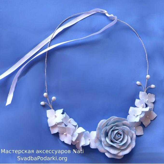 Ожерелье из фоамирана мастер класс с пошаговым