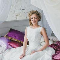 Модель: Анна  Прическа и макияж: Александра Епишина  Платья: Алла Ермилова