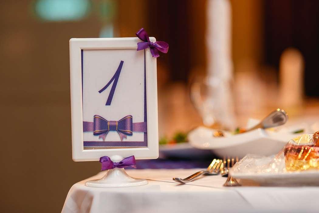 Номерки на столы для гостей! - фото 3914497 Фабрика праздников - организация торжеств