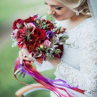 Организация: Свадебное агентство The Global Wedding Образ невесты: Нина Бархат, Эль Стиль Фотограф: Ксения Антонова Флористика и декор: студия Klukva