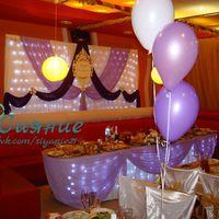 Оформление свадьбы Чебоксары фиолетовое