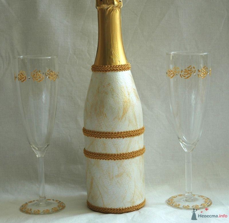 Бутыль и бокалы - фото 43698 Lesechka