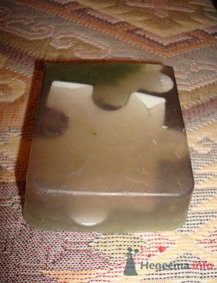 Мыло с глиной, пахнет розой (эфирное масло Герани пахнет как роза=)) - фото 71808 Невеста01