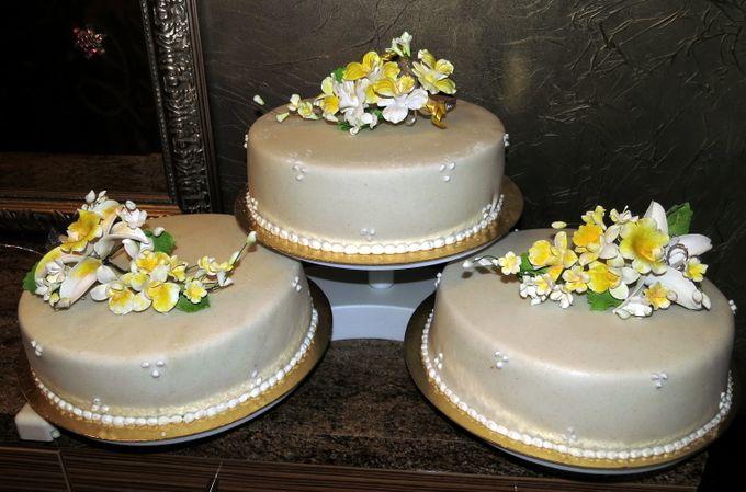 Трехъярусные торты в домашних условиях