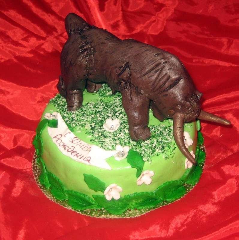 Торт животное своими руками 2