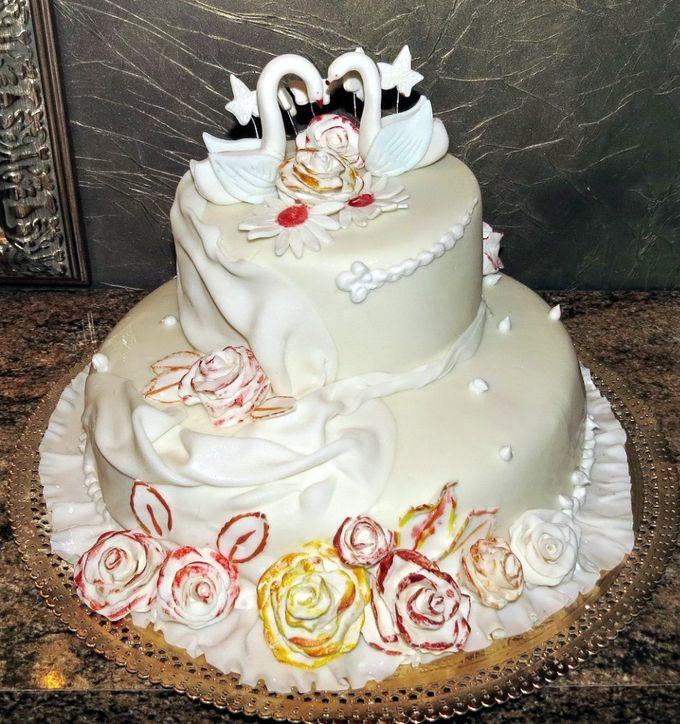 Торт со свечами на день рождения фото