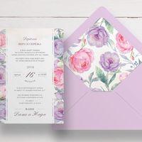 Приглашение в конверте, арт. 32
