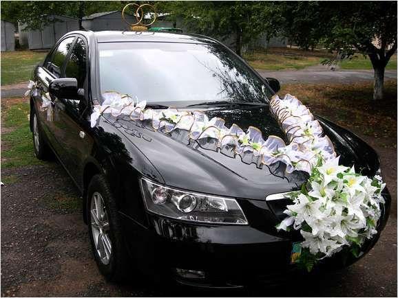 Мастер класса украшения для свадебных машин