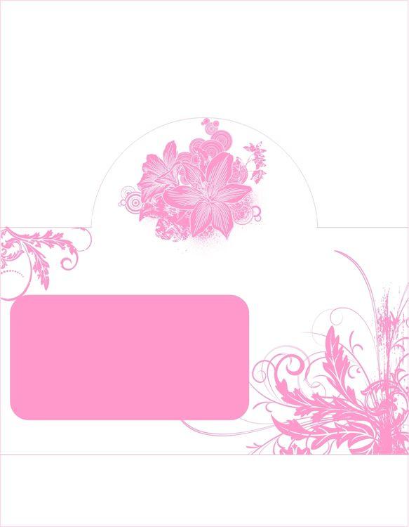 Шаблоны карточки рассадки гостей
