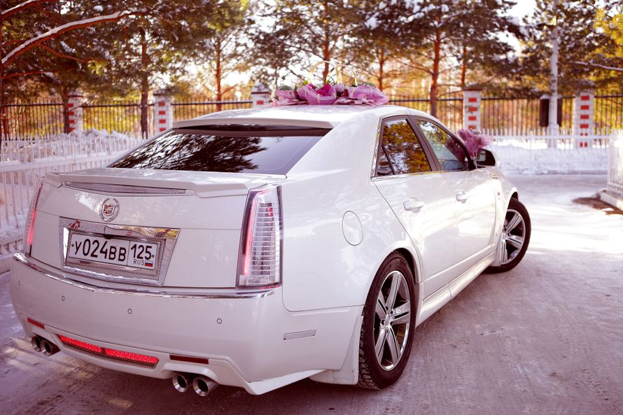 Фото 4115969 в коллекции свадебный автомобиль Cadillac CTS - Cadillac CTS - аренда авто на свадьбу