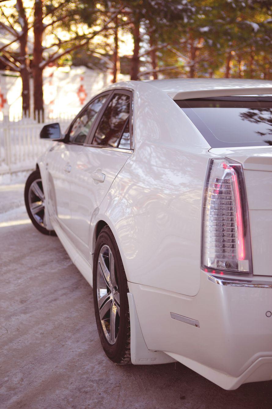 Фото 4116003 в коллекции свадебный автомобиль Cadillac CTS - Cadillac CTS - аренда авто на свадьбу
