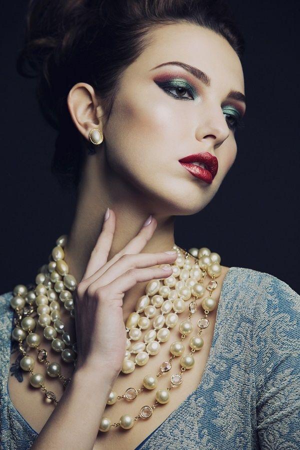 яркий макияж для фотосессии - фото 17083164 Стилист-визажист Крашенинникова Елена