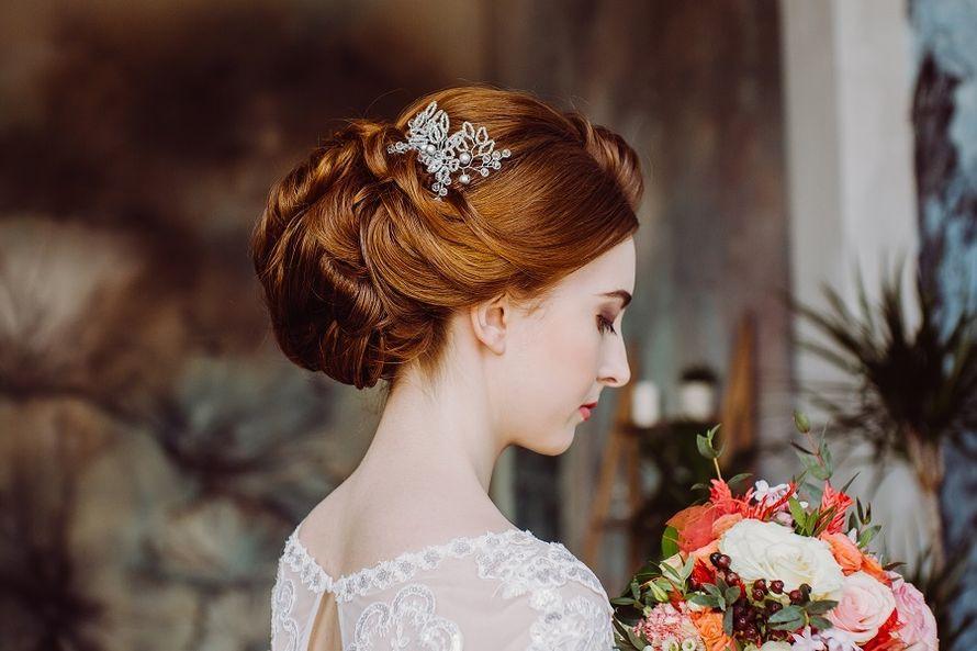прическа на очень длинные и густые натуральные волосы. - фото 17102996 Стилист-визажист Крашенинникова Елена