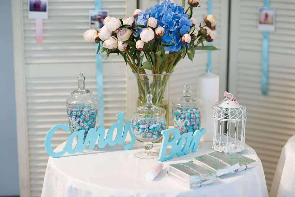 Кенди бар свадьба своими руками голубые тона 73