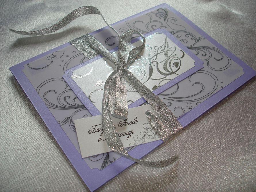Фото 12059602 в коллекции Приглашения на свадьбу, свадебные приглашения - Творческая мастерская Ирины Соловьевой