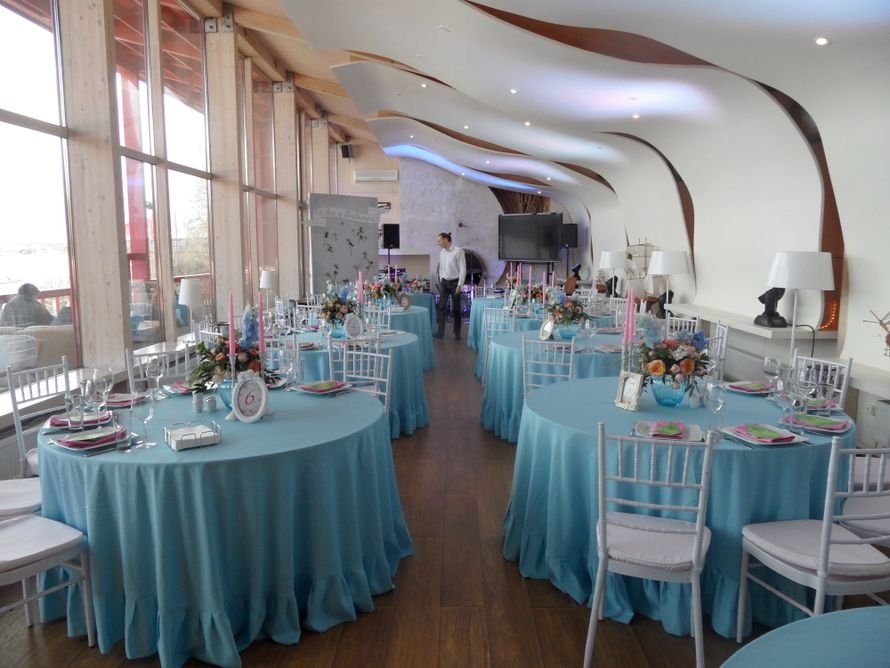 """Свадьба в ресторане """"Кот Дазур"""" - фото 7877274 Ресторан """"Кот дазур"""""""