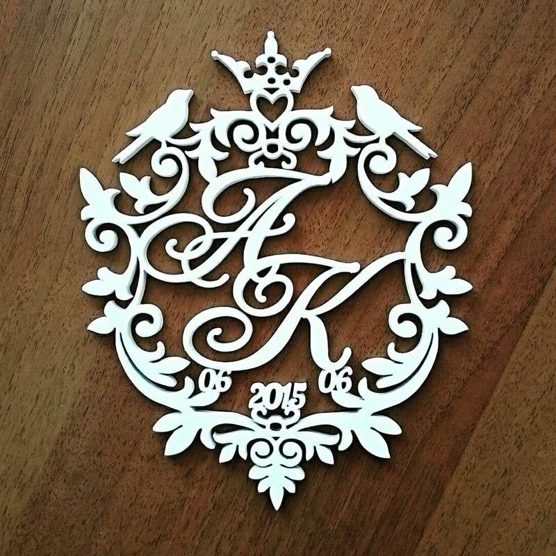 Герб семьи своими руками на свадьбу 9